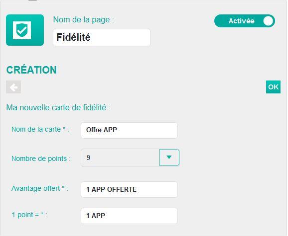 création carte de fidélité Créer une application mobile Android et Iphone avec